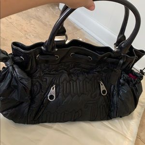 Juicy couture diaper bag?larger purse never used!